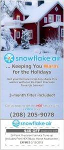 Snowflake air discount