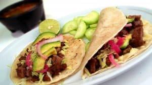Tacos at Enrique's Mexican Restaurant