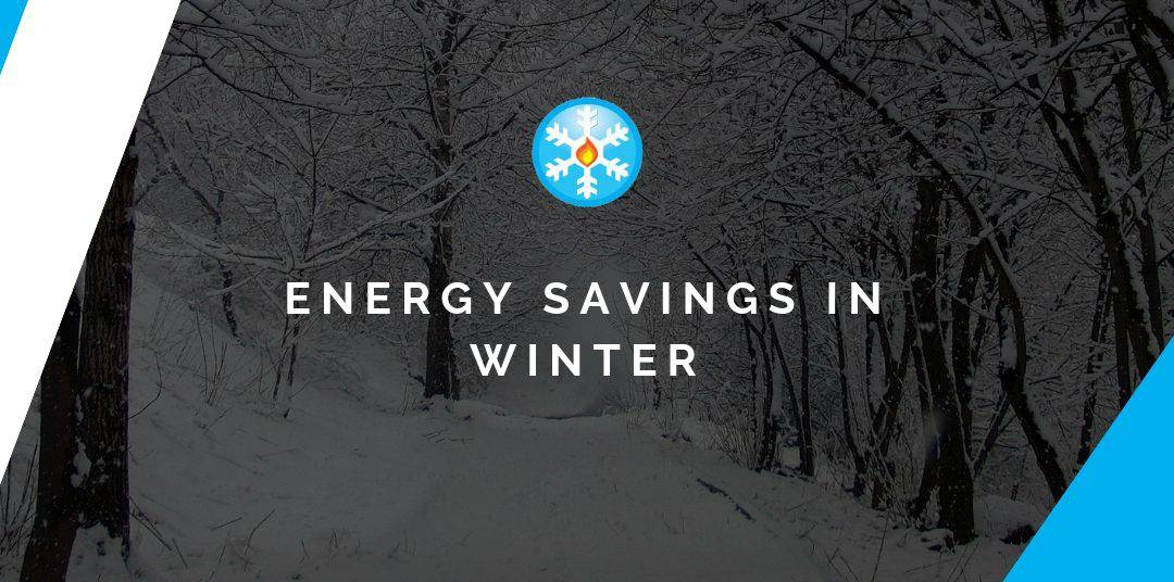 Energy savings in winter