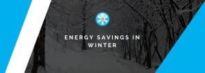 Energy savings in winter