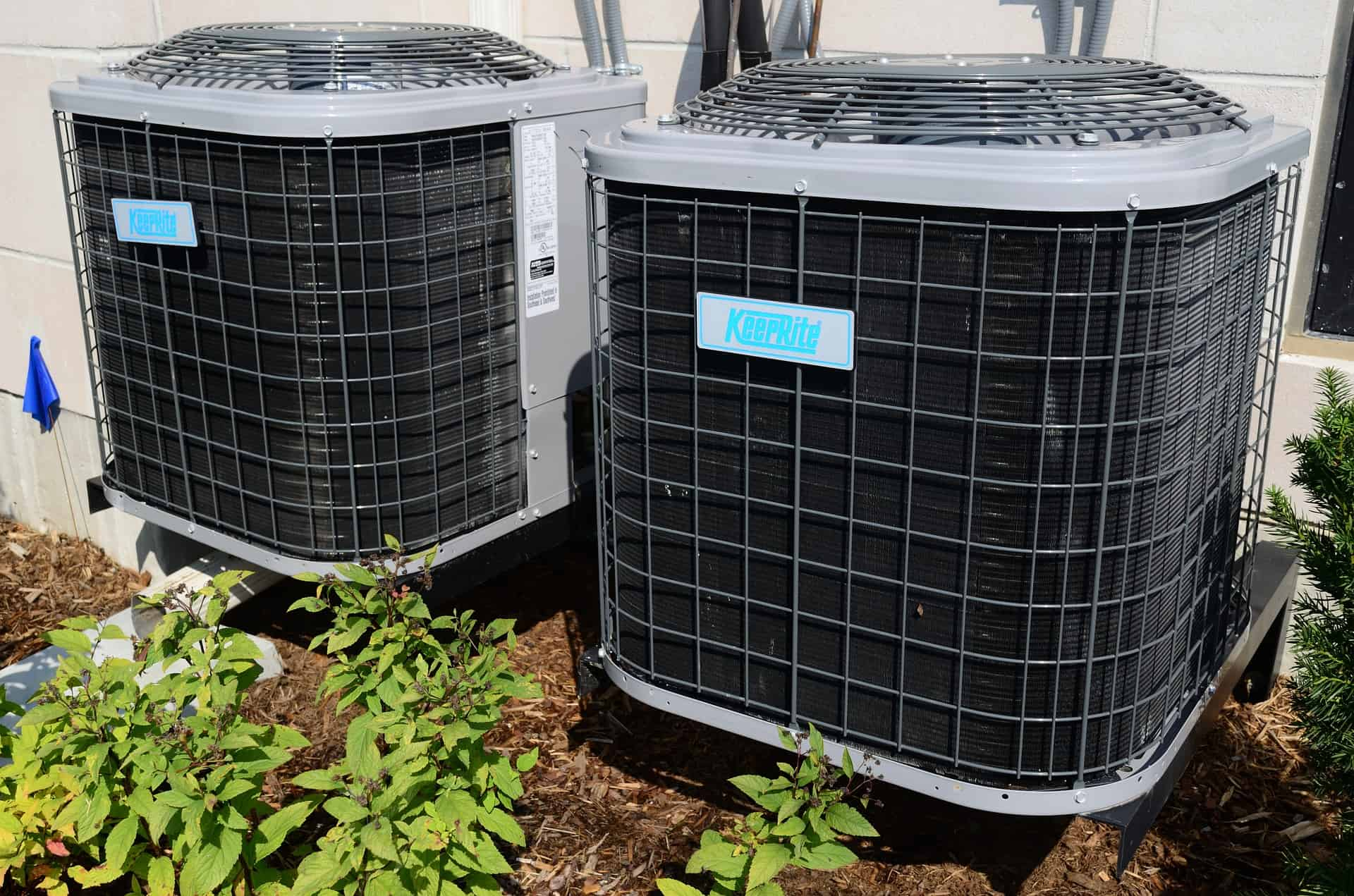 Two air conditioner units
