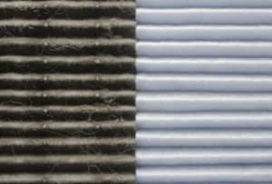 dirty vs clean hvac air filter
