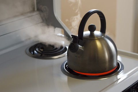 Boiling Water Helps With Low Humidity In The Winter