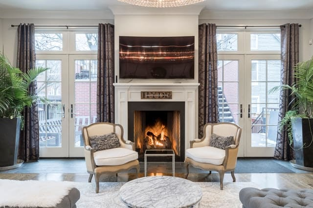 Decorative Photo Of A Home With A Fireplace In Meridian, ID
